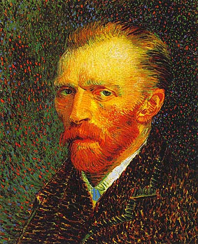Vincent Van Gogh Self Portrait, Paris, Spring 1887