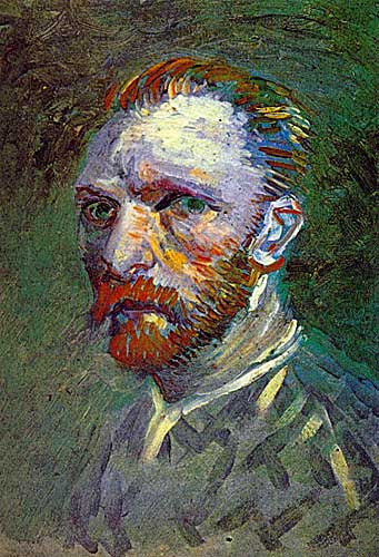 Vincent Van Gogh 12 Self Portrait Paris Spring Summer 1887