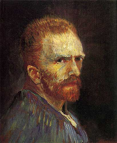 Vincent Van Gogh Self Portrait, Paris, Summer 1887