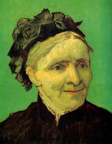 Vincent Van Gogh Portrait of Artist's Mother, Arles, October 1888