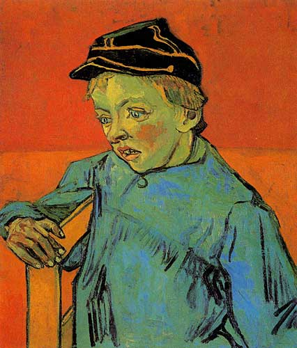 Vincent Van Gogh The Schoolboy Camille Roulin Sainte-Remy November - December 1888