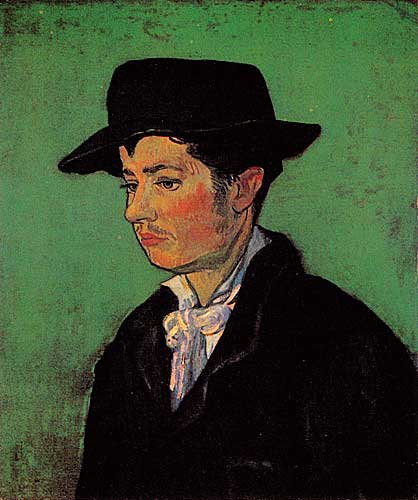 Vincent Van Gogh Portrait of Armand Roulin, Arles, November - December 1888