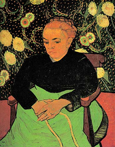 Vincent Van Gogh  La Berceuse (Augustine Roulin), Arles, January 1889
